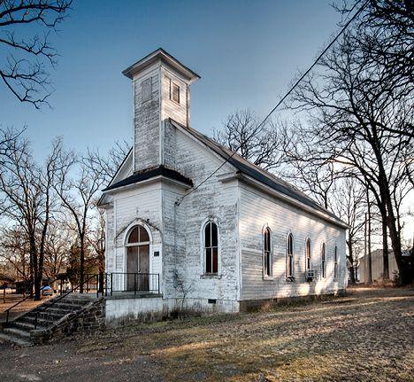 Once a Methodist church, Houston, Arkansas
