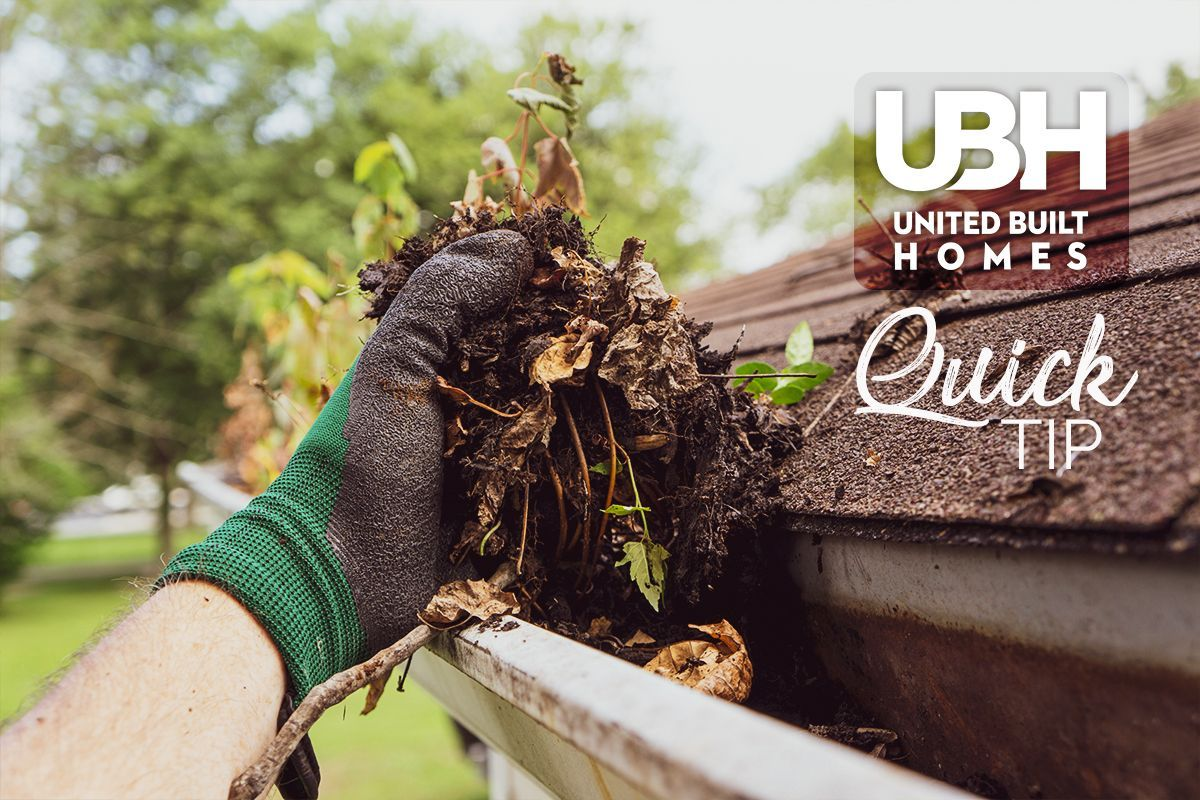 Let The Battle For Your Gutters Begin The Beauty Of Autumn Leaves Loses Its Luster Once They Clog Your Gut Cleaning Gutters Roof Maintenance Gutters