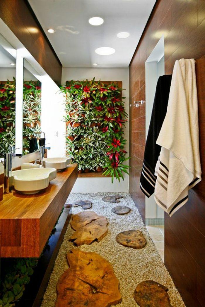 ▷ 1001 + idées pour créer une salle de bain nature Universe