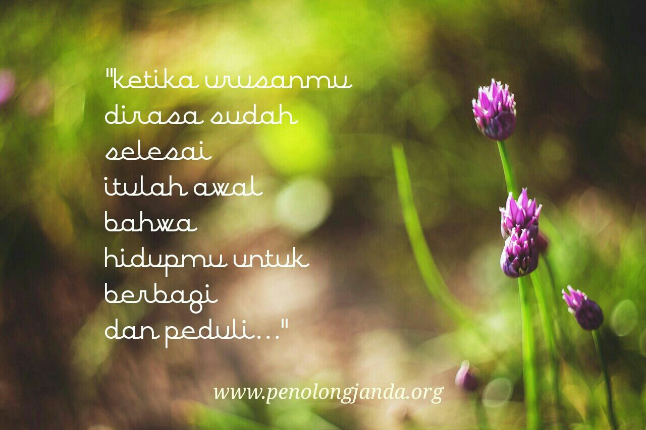 By E Febiola Aryanti Co Founder Penolong Janda Inspirational Quotes Quotes Hometown
