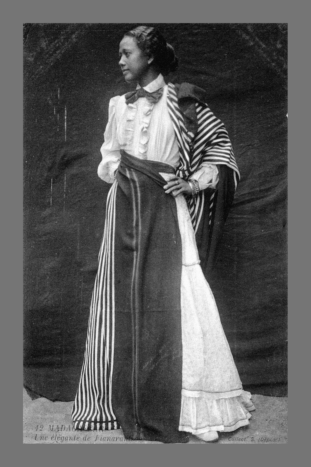 Madagascan Woman C History
