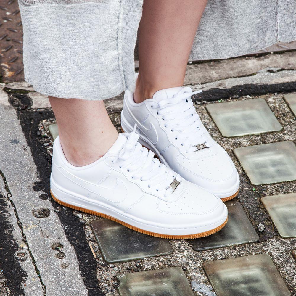 Nike Women s Air Force 1 Airness in White (083771 - £69.99)  Footasylum bba5792bb