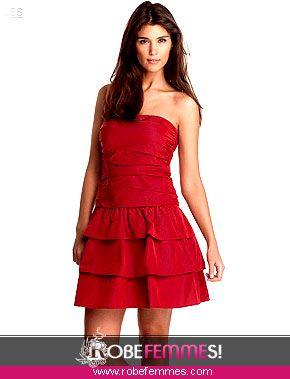 Robe de soiree rouge ado