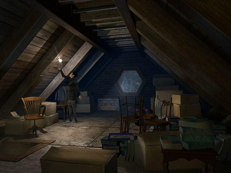 Abandoned in the Attic!