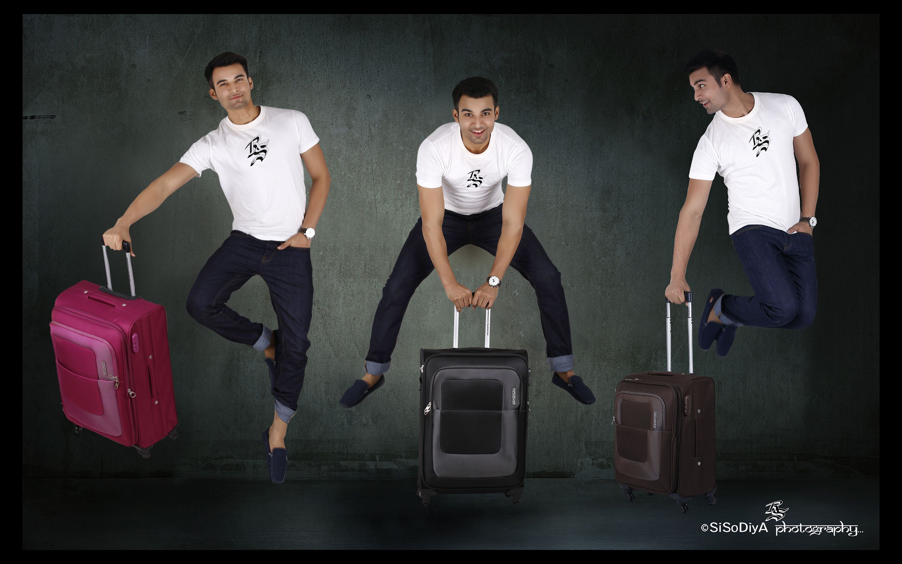 American Tourister Velocity Expandable Luggage Product Photo Shoot..