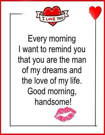 You Always Make It A Good Morning Morning Love Quotes Morning Quotes For Him Good Morning Quotes
