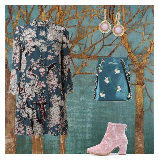 """""""Enchanted"""" by thymetorelax on Polyvore featuring Home Decorators Collection, Valentino and INC International Concepts"""