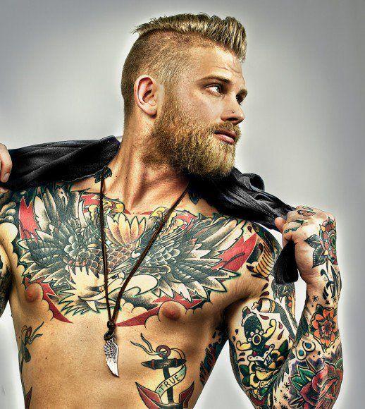 Ces quinze hommes tatoués vont vous donner soif