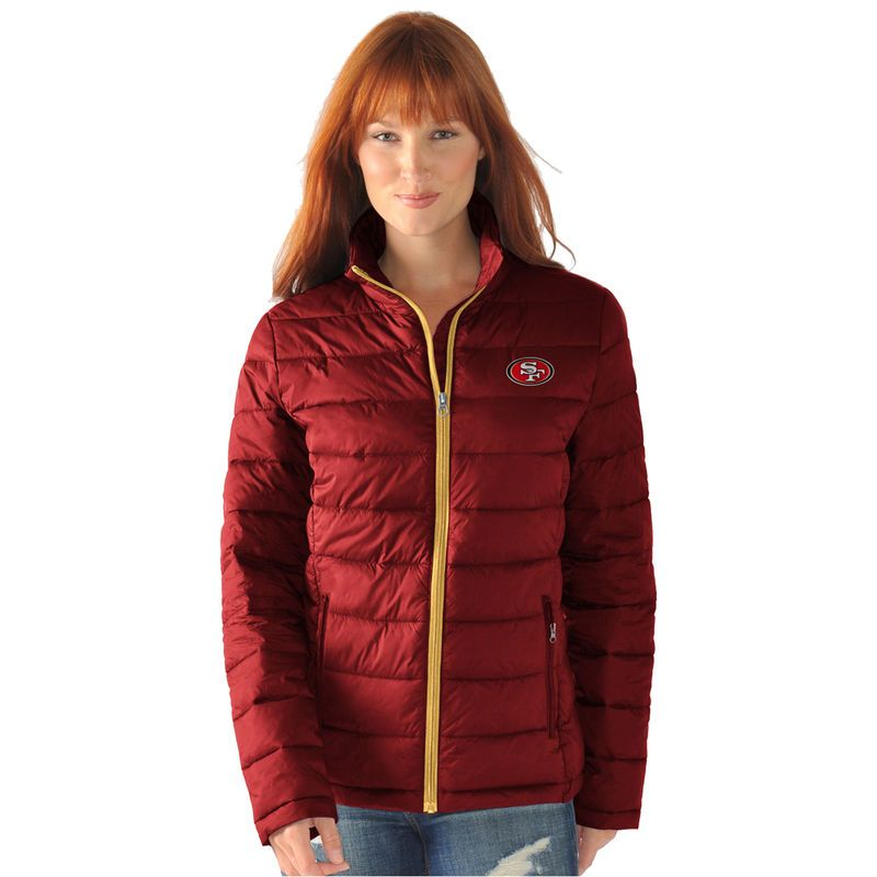San Francisco 49ers G-III 4Her by Carl Banks Women s Packable Polyfill  Jacket - Scarlet b6c29e3f83