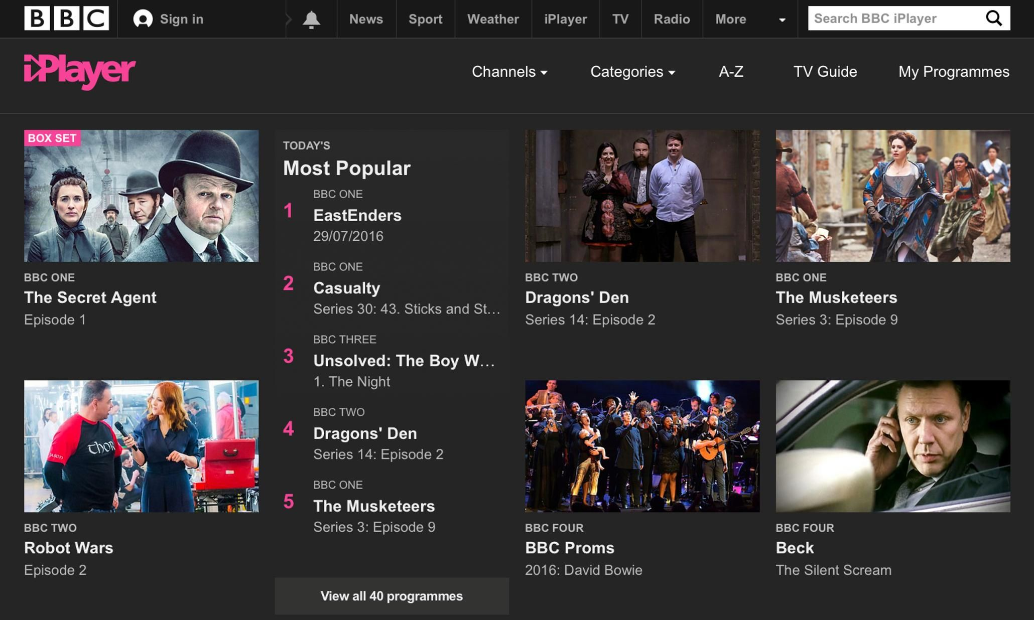 Bbc Iplayer Users Will Have To Pay Tv Licence Fee From 1 September
