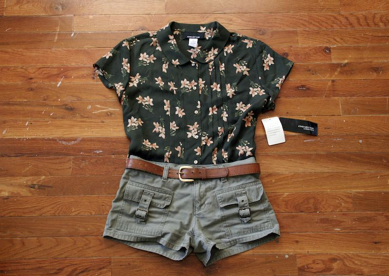 7797d1b354 Thrift store outfit idea