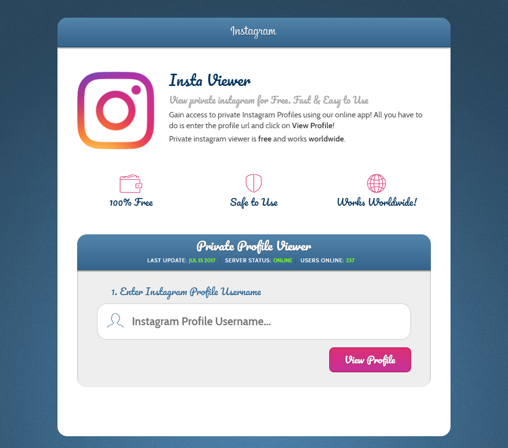 Finally, an Instagram hack tool that works! Get your friends