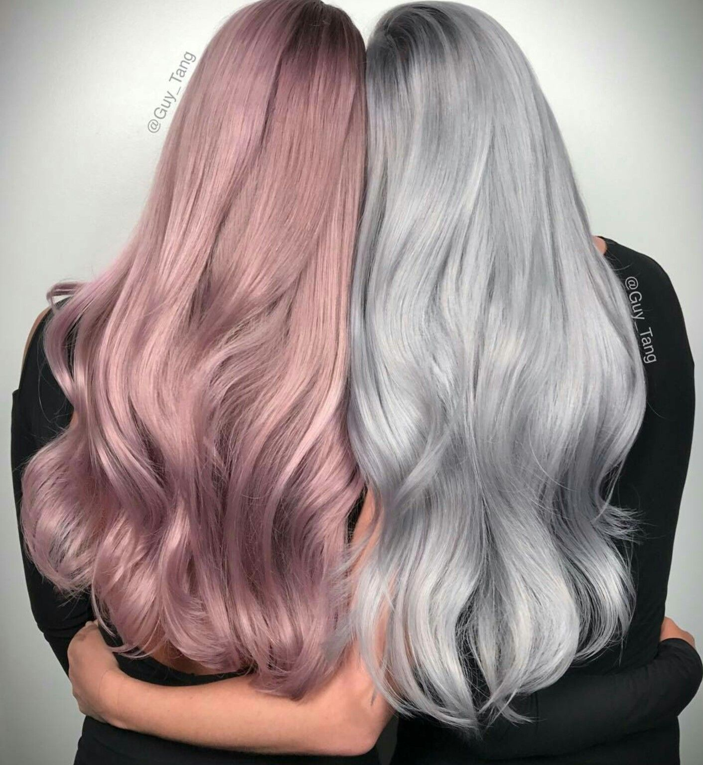 Pin By Bts A R M Y Forever On Hair Hair Color Pastel Grey Hair Wig Hair Color Shades