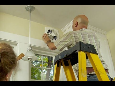 2 How To Install A Through The Wall Exhaust Fan Youtube Good Trick How To Find Studs Exhaust Fan Kitchen Wall Exhaust Fan Exhaust Fan