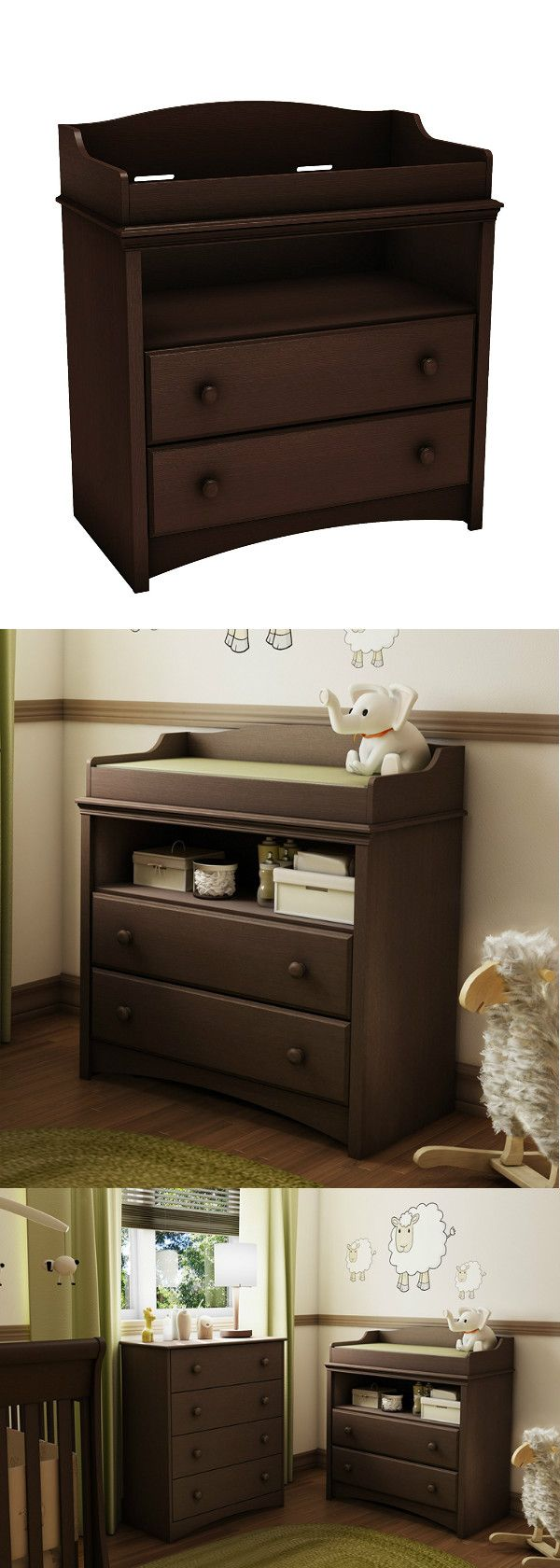 South Shore Angel Changing Table And 4 Drawer Chest Multiple