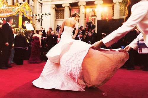 Jennifer Lawrence in Dior couture | Jennifer lawrence ...