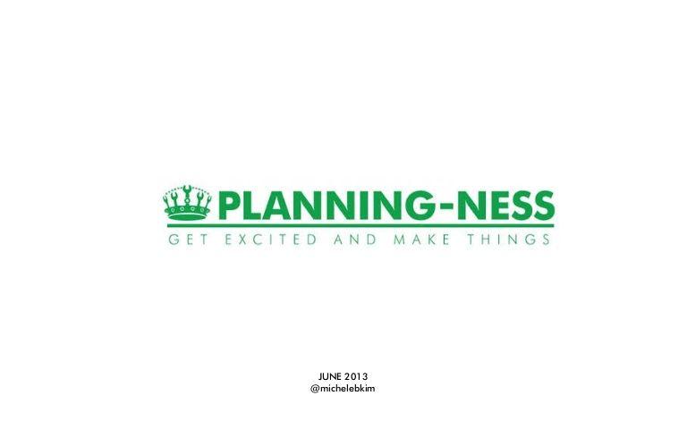 Planningness Themes 2013
