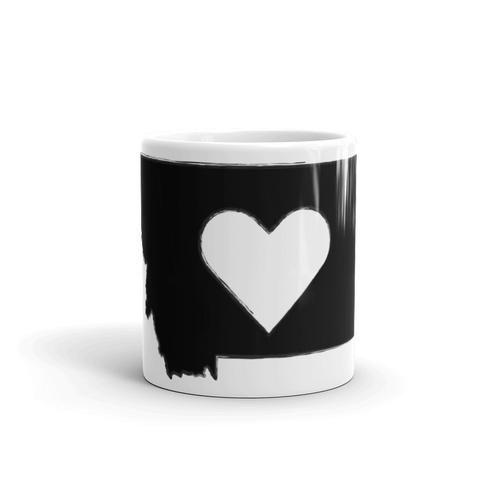 Montana Heart Coffee Mug