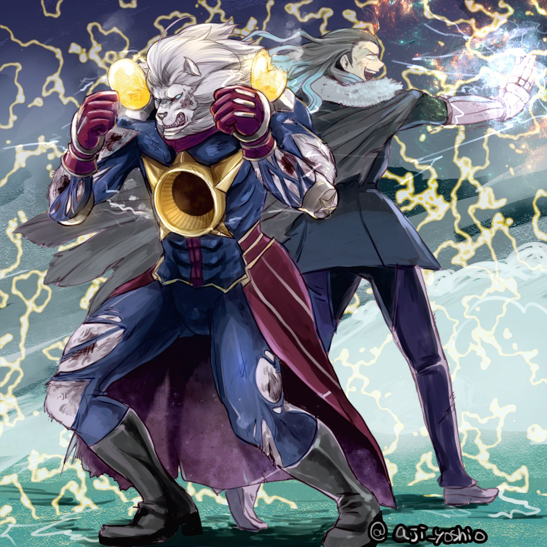 Thomas Edison Nikola Tesla Fate Grand Order Fate Manga