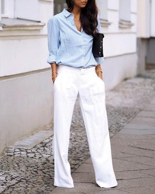 Photo of Outfits con pantalón PALAZZO que te haran ver como una EJECUTIVA