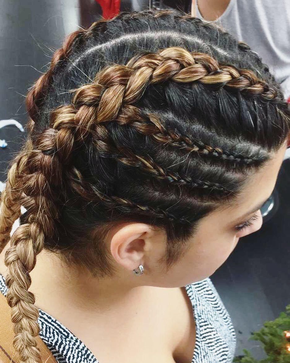 dutch braid - hairstyle