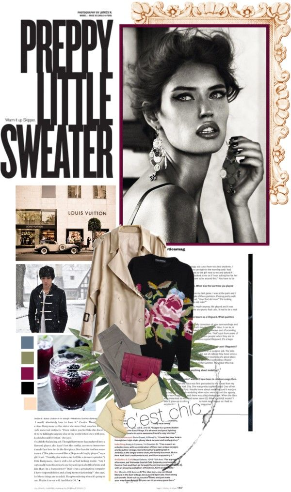 """Little Sweater"" by browneyez ❤ liked on Polyvore"
