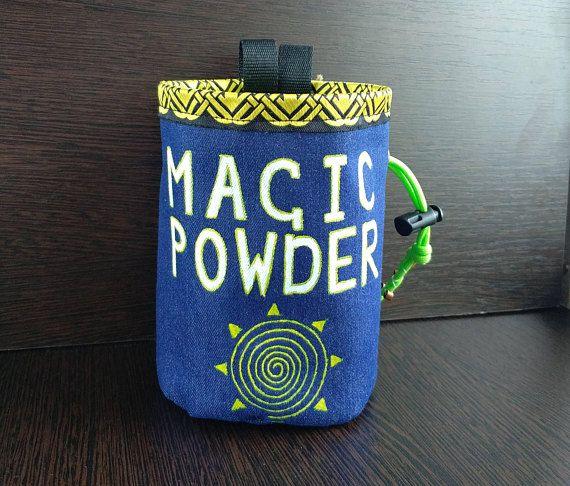rock climbing chalk bag magic powder sun chalk bag climbing gift for