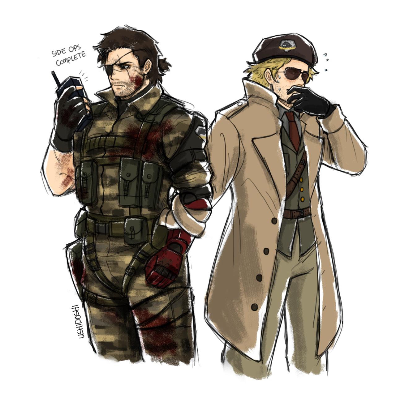 Metal Gear Solid Big Boss Tumblr Metal Gear Series Metal Gear Metal Gear Solid Series