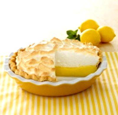 Mile High Lemon Meringue Pie (Argo Cornstarch box recipe) - Recipelink.com