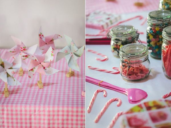 Pinwheels and old-timey candy