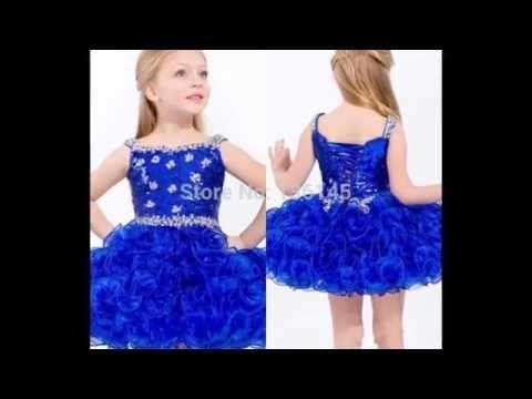 ba6741154 Vestidos de fiesta para niña 1 - YouTube