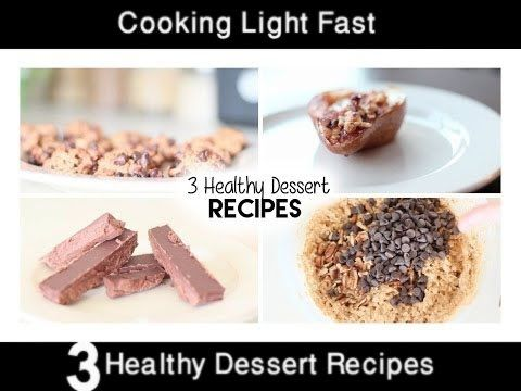3 Healthy Dessert Recipes | 3 Healthy Dessert Recipes Easy | Cooking Lig...