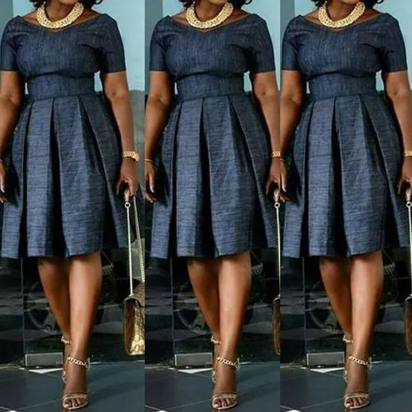 ad9053d37e Denim with a dash of Africa