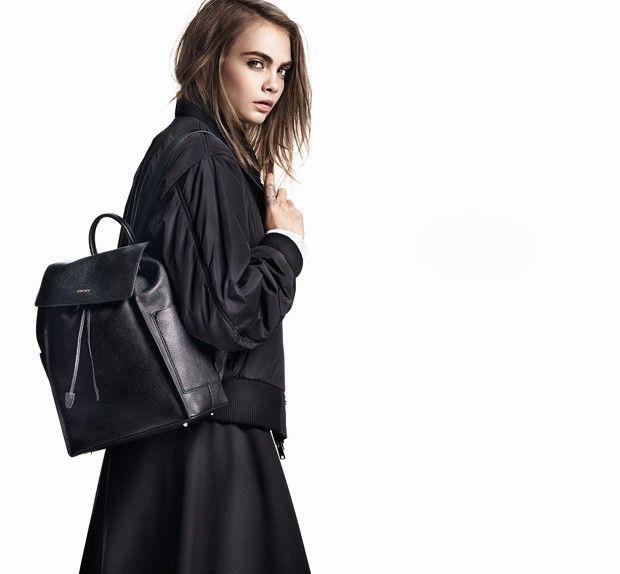 Cara Delevingne For DKNY Fall Winter 2015