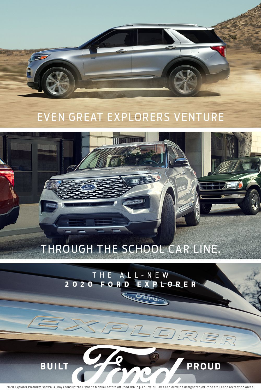 The All New 2020 Ford Explorer In 2020 2020 Ford Explorer Ford Explorer Car Ford