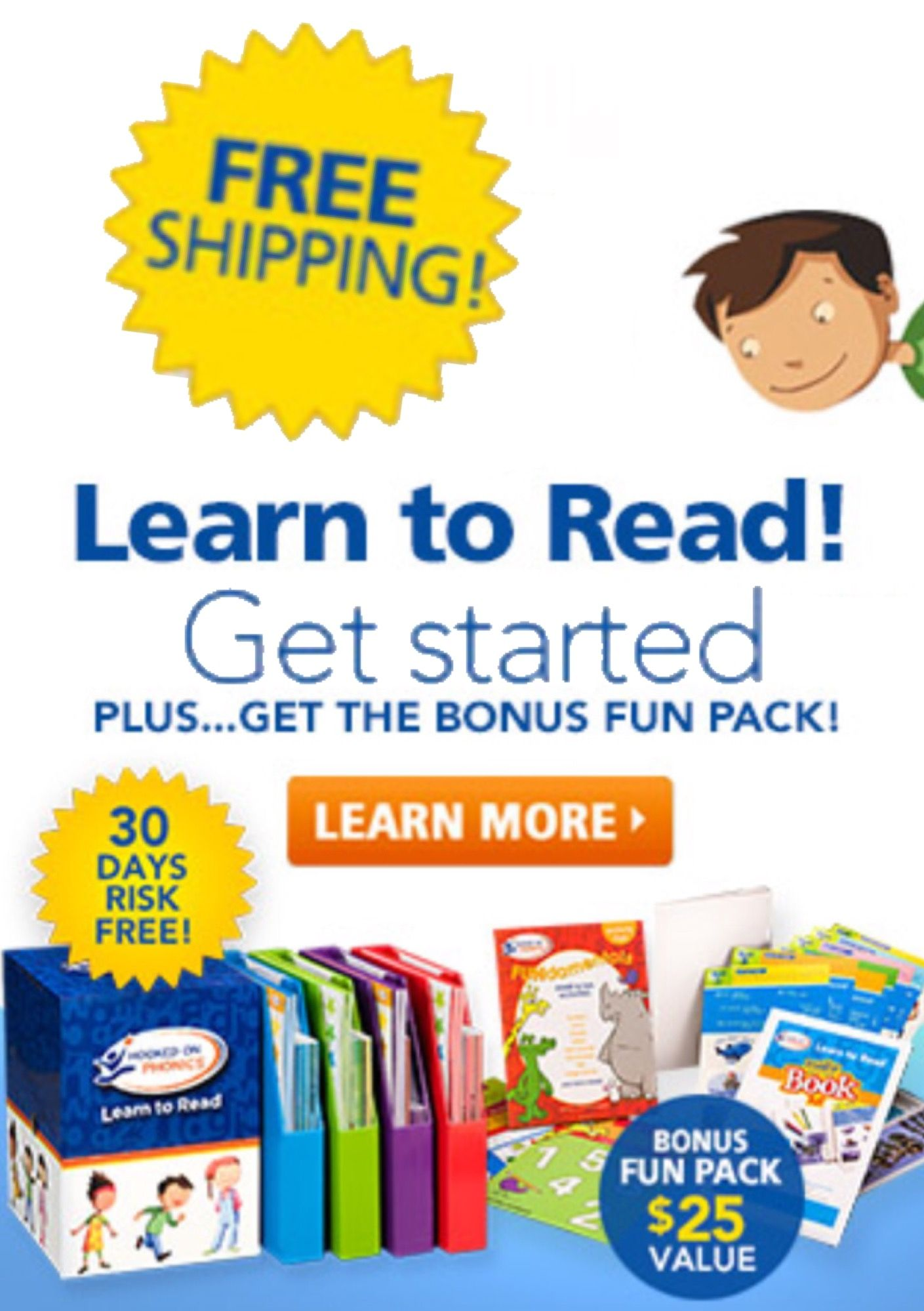 Hooked On Phonics Complete Set For Ages 3 8yrs Old
