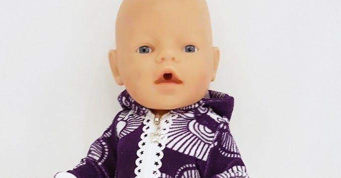 054453180383 Baby born nukenvaate kaavat vaatteita nukelle