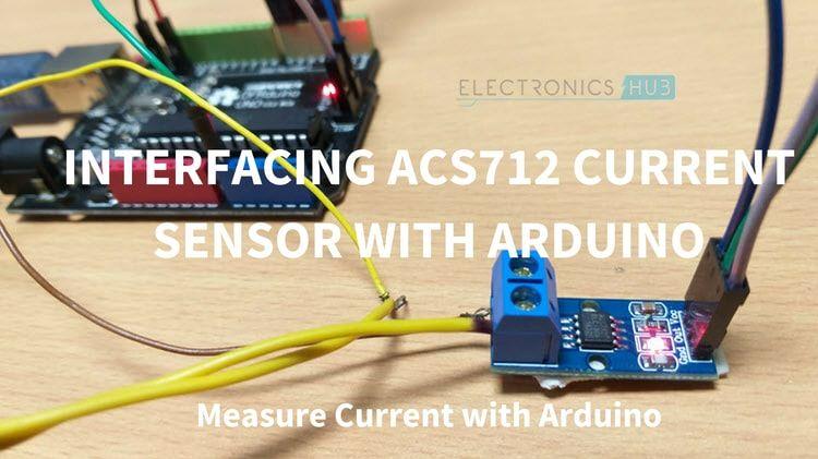 Interfacing Acs712 Current Sensor With Arduino Measure Current With Arduino Measuring Current With Arduino Arduino Sensor Robotics Engineering