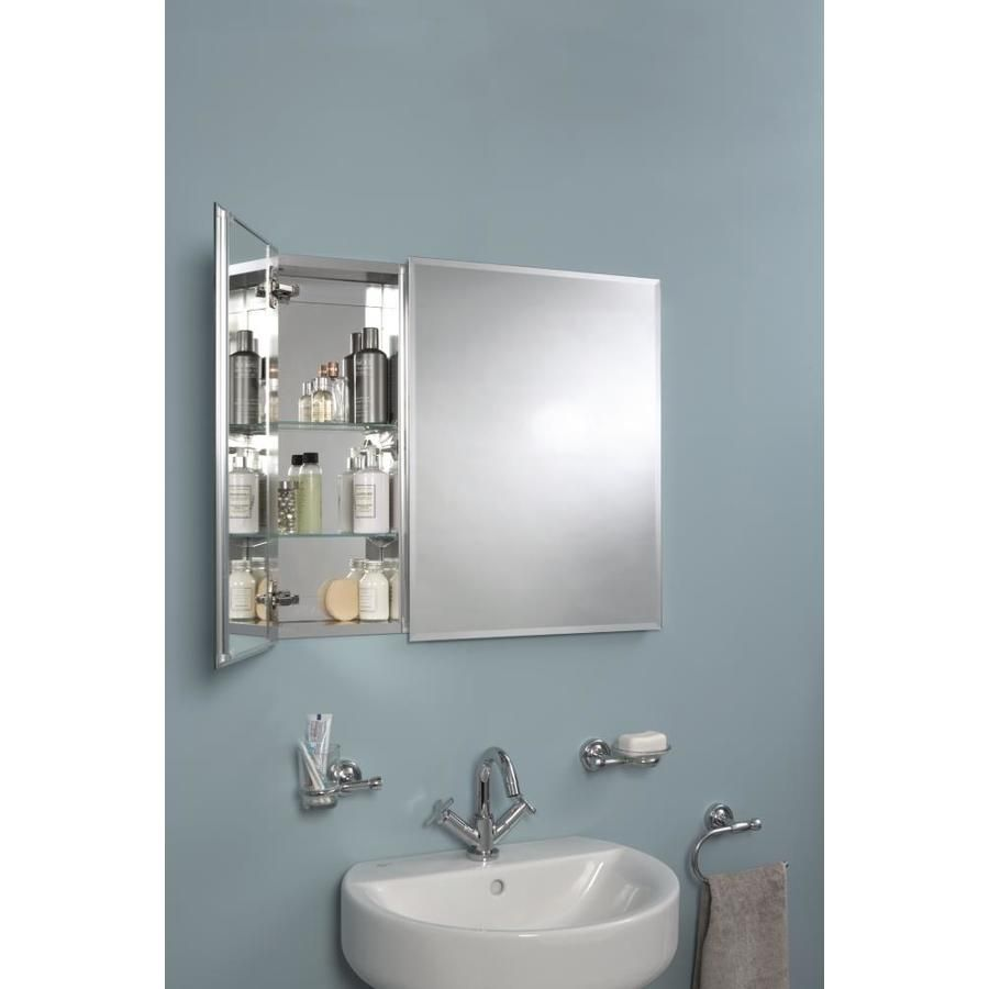 Jacuzzi 30 In X 26 In Rectangle Surface Recessed Mirrored Medicine