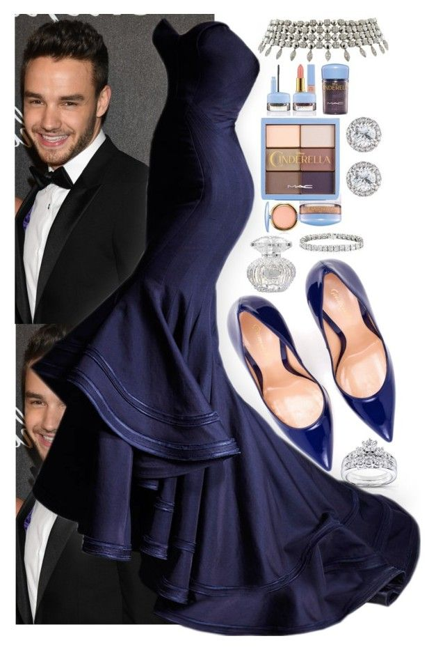 """""""Prom Night With Liam"""" by angelbrubisc ❤ liked on Polyvore featuring Balmain, Sans Souci, Badgley Mischka, Lipsy, Chicwish, Marchesa, Vera Wang, Zuhair Murad, Elie Saab and Casadei"""