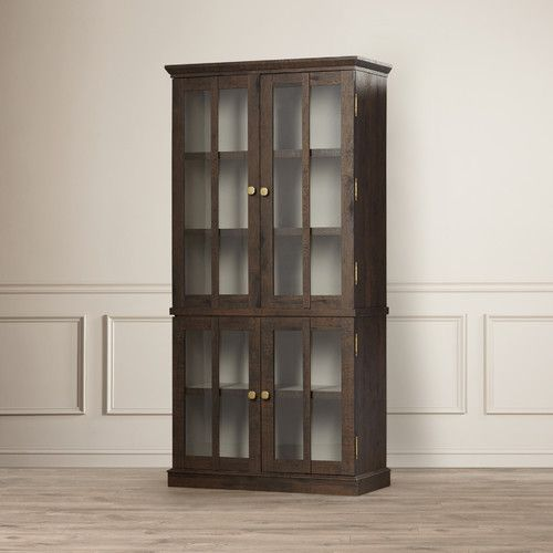 Found it at Wayfair - Bissette Tall Display Cabinet | Laundry Room ...