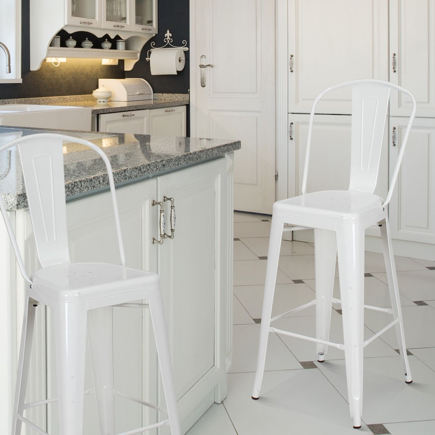 Bar Stools White Home Goods Free Shipping Orders Over
