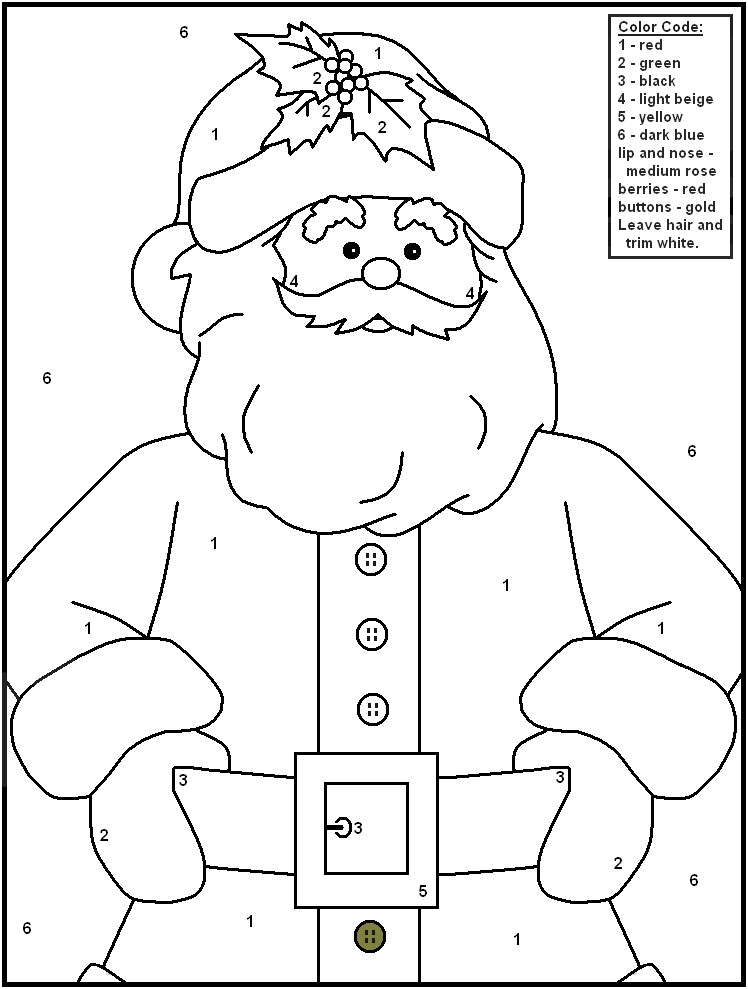 Christmas Color By Numbers Merry Christmas Coloring Pages Christmas Color By Number Christmas Coloring Pages