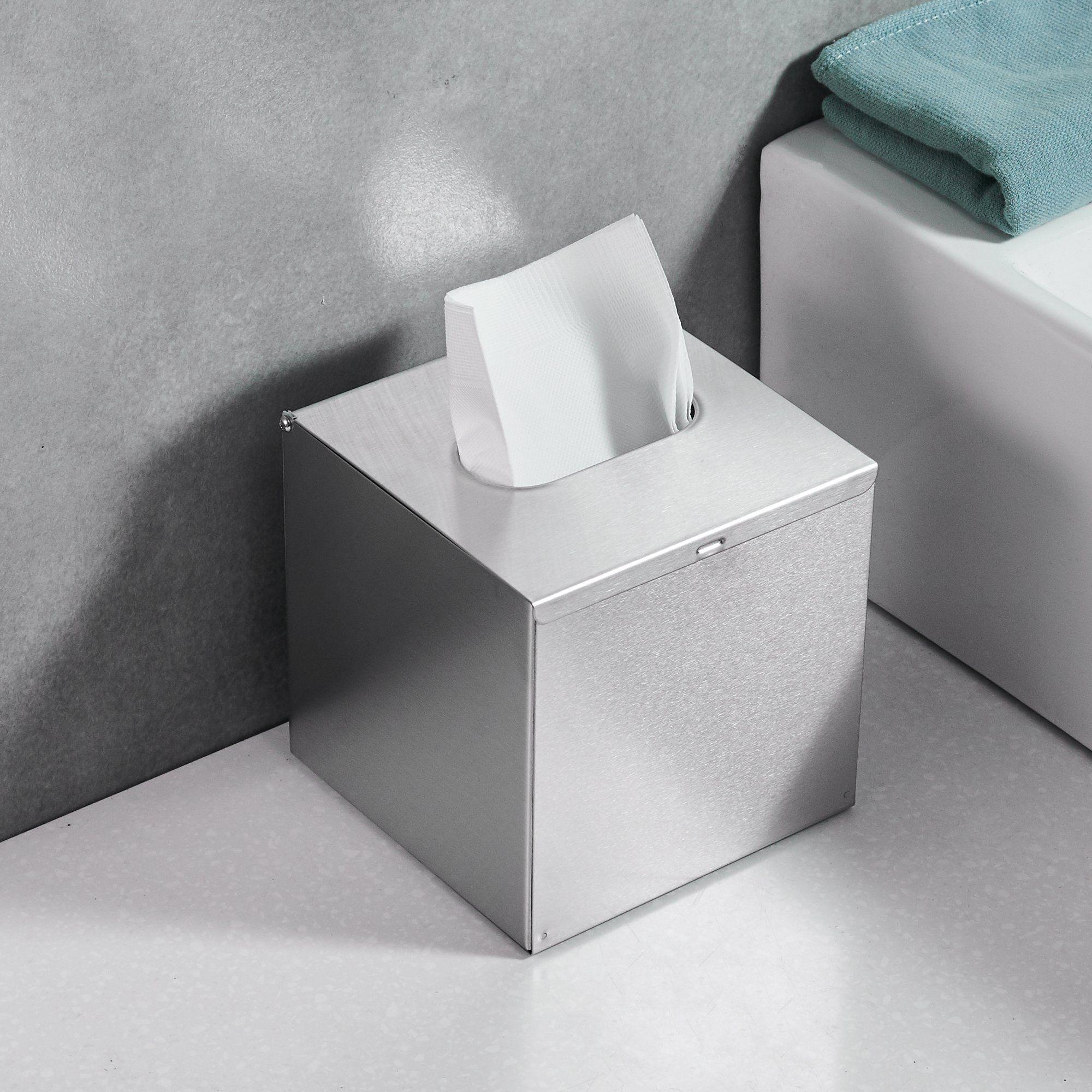 Junsun Square Paper Facial Tissue Box Cover Napkin Holder Tissue