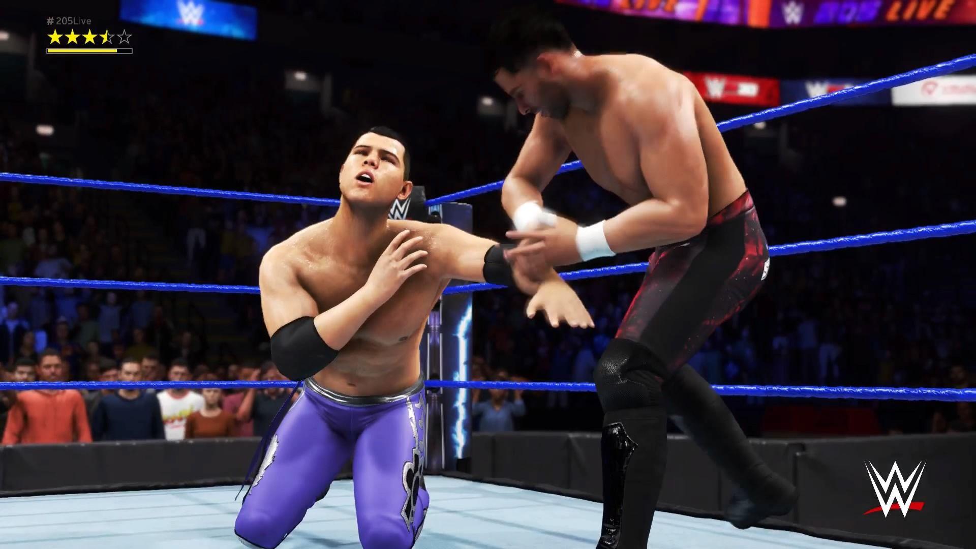 WWE 2K20 Superstar Noam Dar vs Humberto Carrillo Fight in
