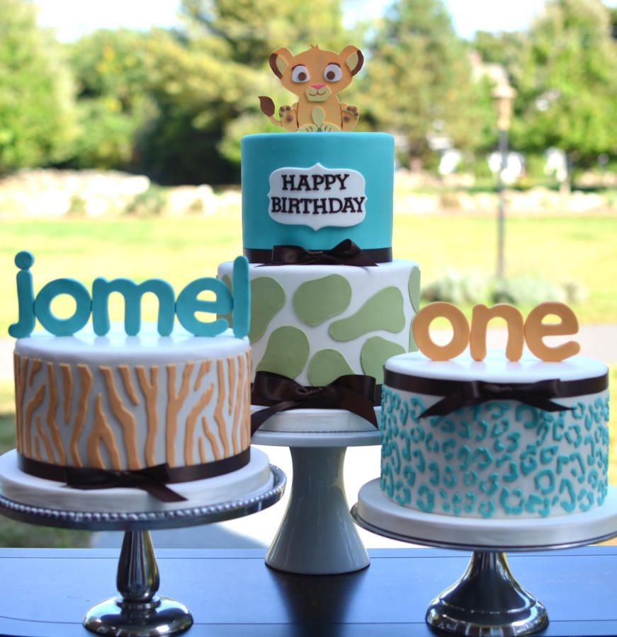 Lion King First Birthday Cake Cake by Elisabeth Palatiello Party