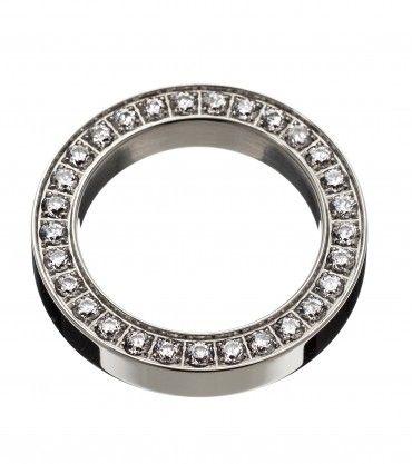 Square ring Eternity steel   Edblad