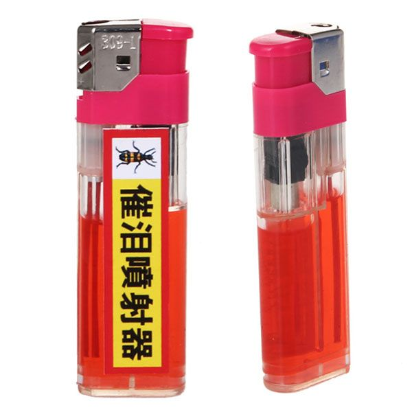 Lighter Shaped Pepper Spray Nifty Products Stuffed