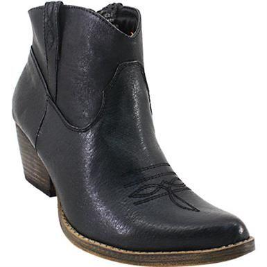 Volatile Banjo Ankle Boots - Womens Black