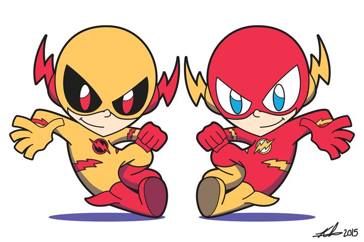 Pin By Edgar Del Castillo On Reverse Flash Chibi Flash Drawing Reverse Flash